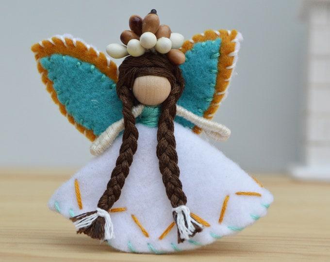 Waldorf Fairy Doll, Felt Fairies, Miniature Fairy Doll