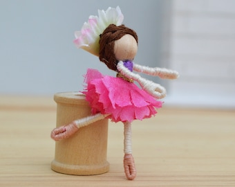 Ballerina Doll, dance recital gift, ballet fairy doll