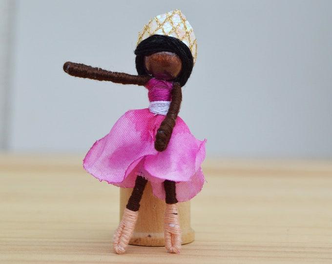 Ballet Doll, Ballerina Fairy Doll, Dance Recital Gift, Ballet gift