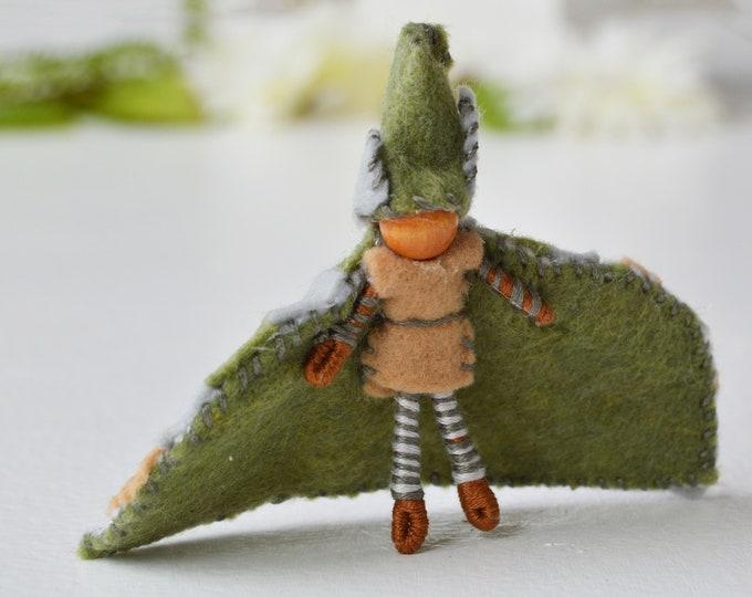 Felt Boy Fairy Doll, Waldorf Felt Doll, Miniature Fairy Doll, Boy Fairies