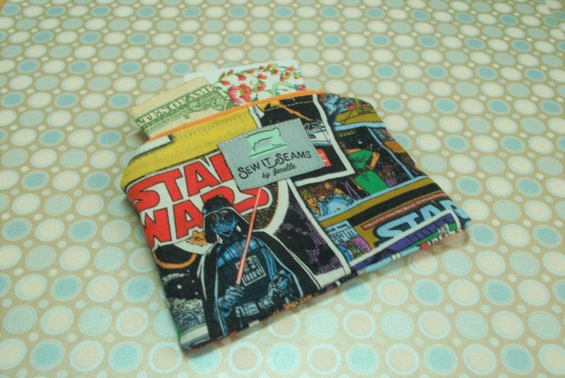 Star Wars zipper pouch Wallet size