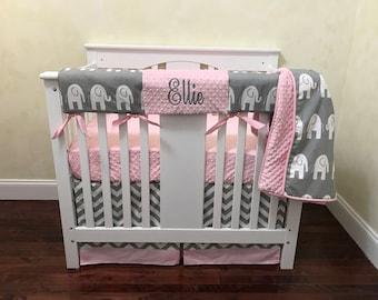 Mini Crib Bedding Etsy