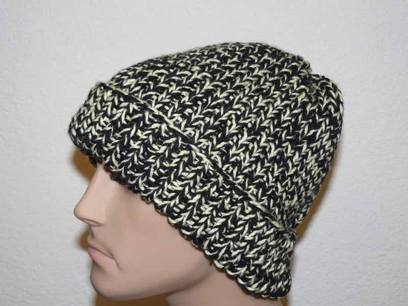 Knitting PATTERN, Knit Beanie Pattern, Mens Knit Hats Patterns, Knit ...