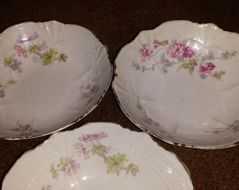 4 Vintage Weimar Bowls from Germany