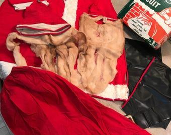 1950s Ben Cooper Santa Claus Suit