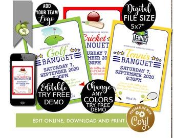 Banquet Invitation Etsy