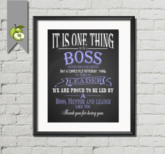 Boss Appreciation Week Day Boss Day Thank You Boss Etsy