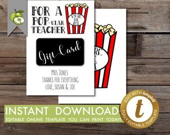 Popcorn tags | Etsy