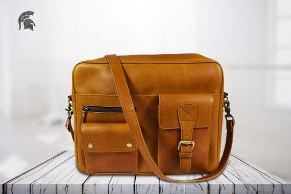 9f961d167df8 Leather handbag Leather satchel bag messenger bag Leather