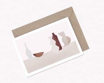 Greeting Card TRIBU + kraft envelope - limited edition