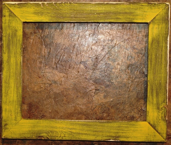 """F001-13 1-1//2/"""" Hot Pink Distressed Picture Frame"""