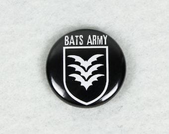 BATs Army Button, black