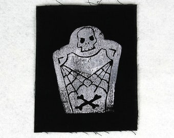 Patch *Tombstone / Tombstone*, black