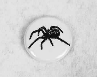Cross Spider Button, white