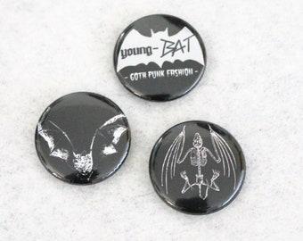 """Button Set """"BATs BATs BATs"""""""