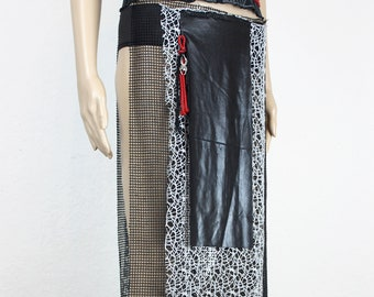 Grey Spider net Skirt, Gr. l
