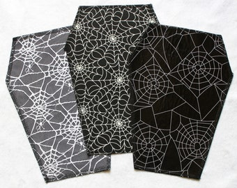 """Selection: Backpatch coffin shape """"spider web special"""""""
