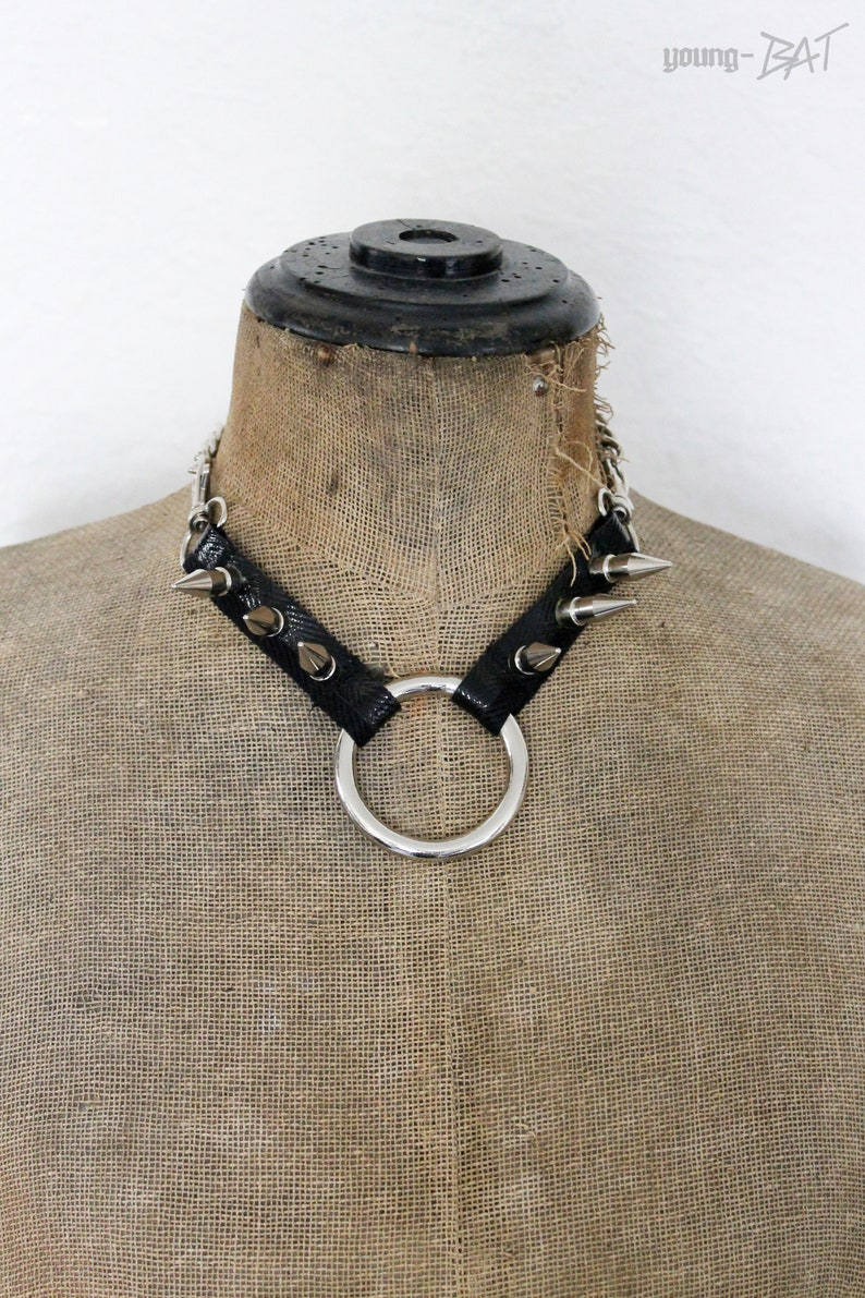 Ring and Studded Choker/Necklace image 0