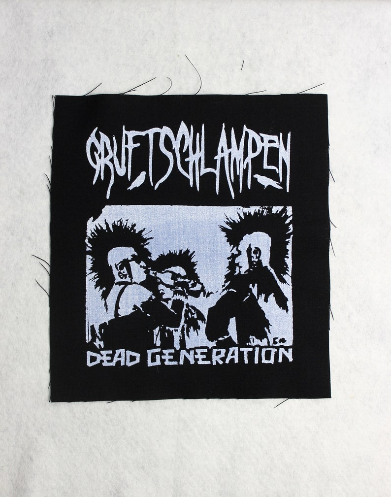 Backpatch Tomb  Dead Generation black and white image 0