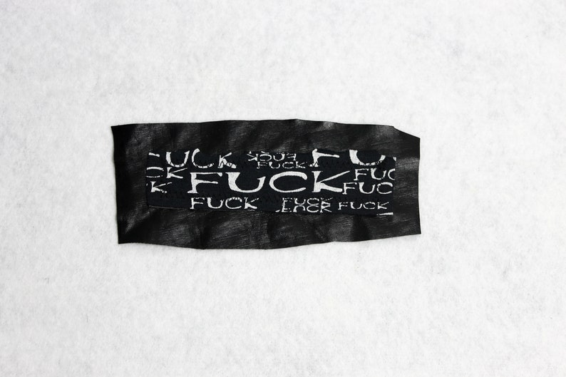 Fuck Fuck Fuck Patch UNIKAT Fuck Fuck Fuck Fuck