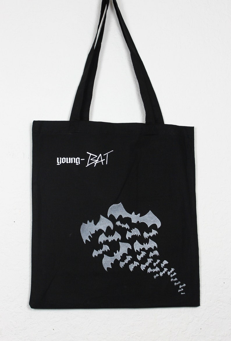 Bag young-BAT black long carrier image 0