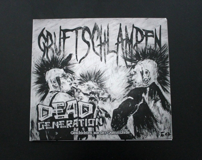 Dead Generation by Gruftschlampen CD Album image 0