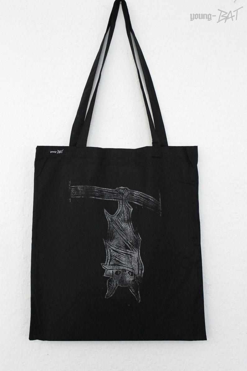 Pouch Hanging bat black long carrier image 0