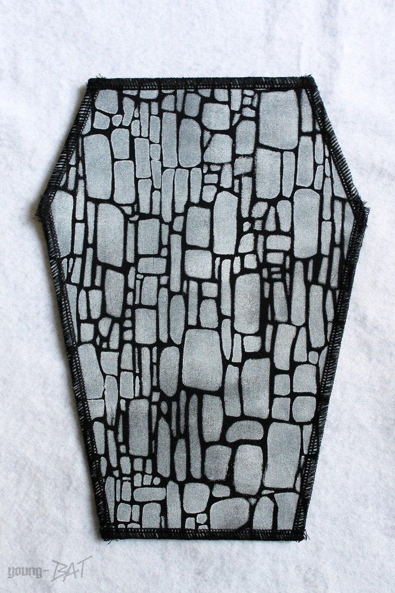Coffin Backpatch Net image 0