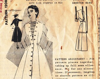 Spadea Designer Pattern Misses' Dress By Brigance 1208 Size 12