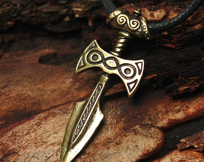 Bronze Amulet of Talos Video Game 3D Pendant Necklace