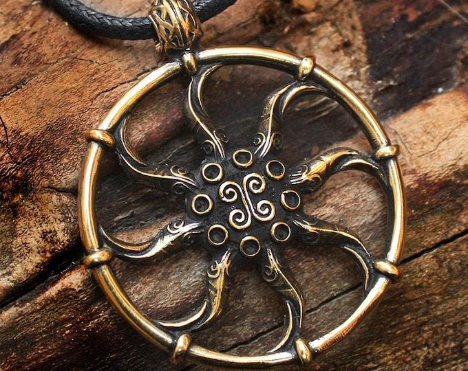 Azura Star, Black Star, Pendant Artifact Gamer Necklace