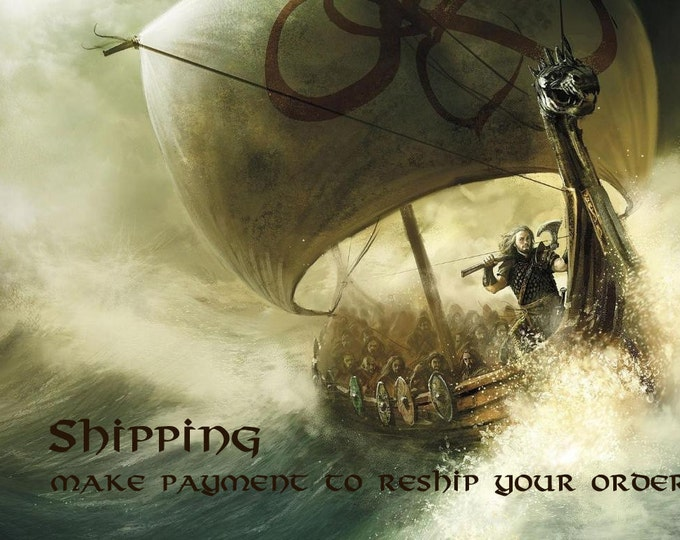 SHIPPING: Make your payment here to have your order resent