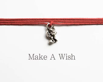 Make A Wish Cupid Bracelet - Love Token - Cupido - Amor - Boho Jewellery - Gift for her - Stocking Stuffer