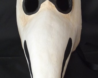 Plague mask, plague doctor mask, historic and traditional venetian mask