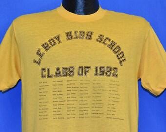 90s CWHS Creek Wood High School Class of 1993 Graduation t-shirt Large