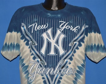 1d494ffd 90s New York Yankees Tie-Dye t-shirt Large