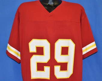 90s Kansas City Chiefs Greg Hill #29 Logo 7 Football Jersey t-shirt Extra Large