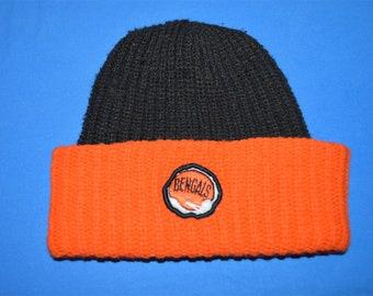 37b24211 Vintage knit football hat | Etsy