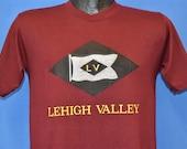 80s Lehigh Valley Railroad t-shirt Medium