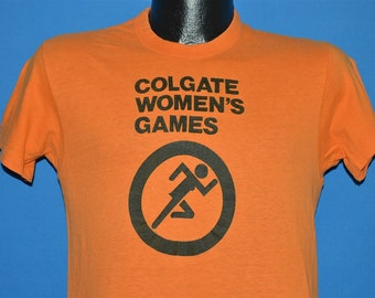 e4382d3212b5 70s Colgate Women's Games t-shirt Small