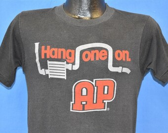 c231eb23 80s Hang One On Harrisville Auto Parts t-shirt Small