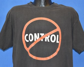 9d61e656 90s Eddie Money No Control 1991 Tour t-shirt Extra Large