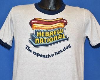 a1254ff45 70s Hebrew National The Expensive Hot Dog t-shirt Medium