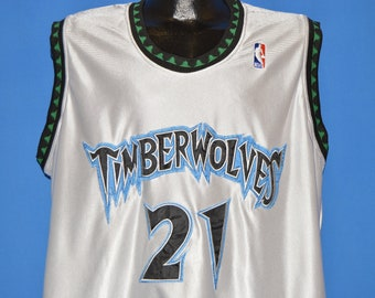 21b996ed4c8 90s Minnesota Timberwolves Kevin Garnett Jersey Medium