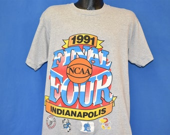 7573ae3f 90s NCAA Final Four 1991 Duke Blue Devils t-shirt Large