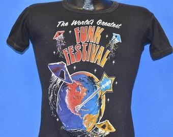 992d401c 70s World's Greatest Funk Festival 1979 t-shirt Small
