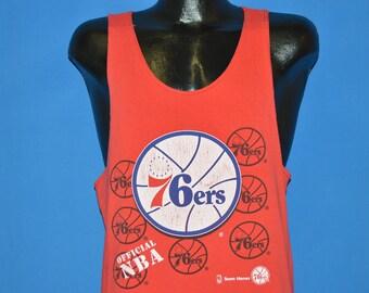 8ecf38783b7 80s Philedelphia 76ers NBA Tank Top t-shirt Medium