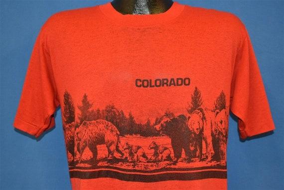 80s Colorado Bears Wrap Around t-shirt Large