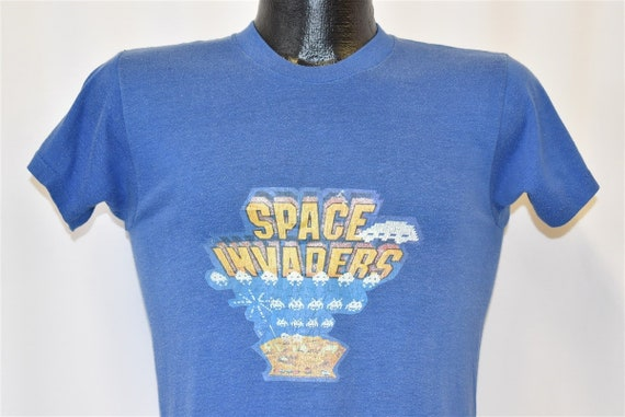 80s Space Invaders Video Game t-shirt Small