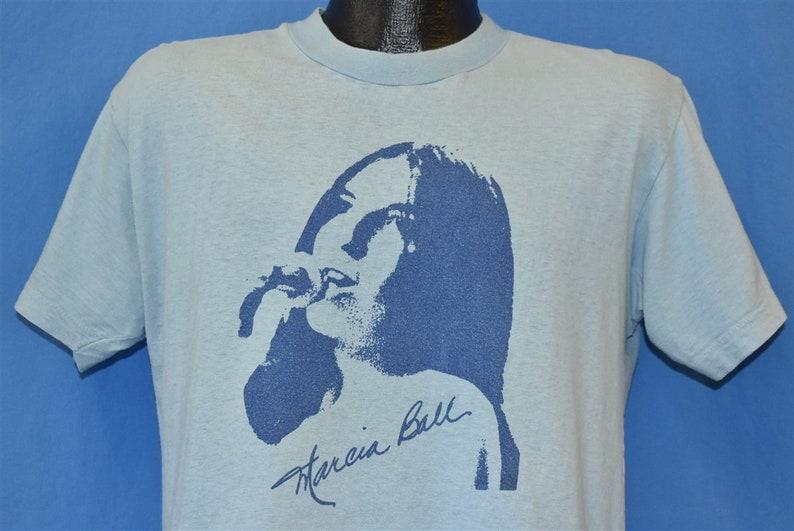 70s Marcia Ball New Orleans Blues R/&B Singer t-shirt Medium